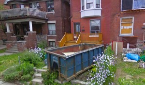 spring roll off dumpsters